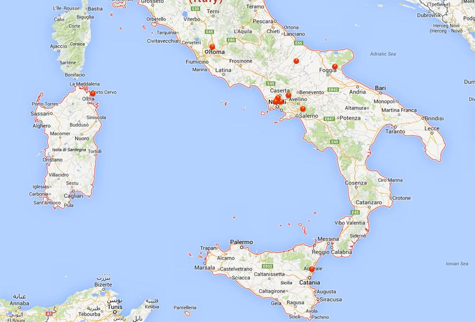 Installazioni presenti Selfretail in Italia